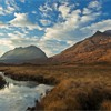 Liathach and Beinn Eighe in afternoon light, Torridon, Scotland