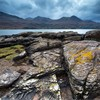 Rocky foreshore near Torridon village, Upper Loch Torridon, Wester Ross, Scotland