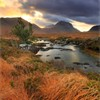 Marsco, Isle of Skye, Scotland, UK, November